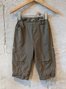 Soft French Khaki Trousers - 12 Months