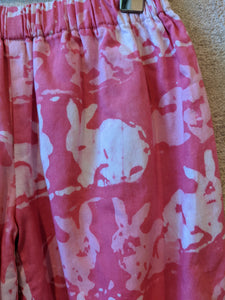 Sweet Cosy Pink Rabbity 12 Months
