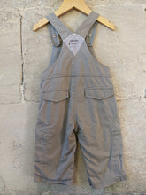 Load image into Gallery viewer, Lovely Lined French Fox Dungarees - 12 Months