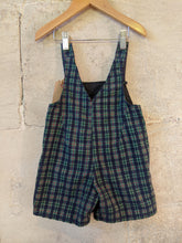 Load image into Gallery viewer, Fabulous French Vintage Plaid Dungarees - 12 Months