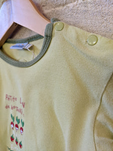Spectacular Sergent Major Rabbit Dungarees & Matching Tee - 12 Months