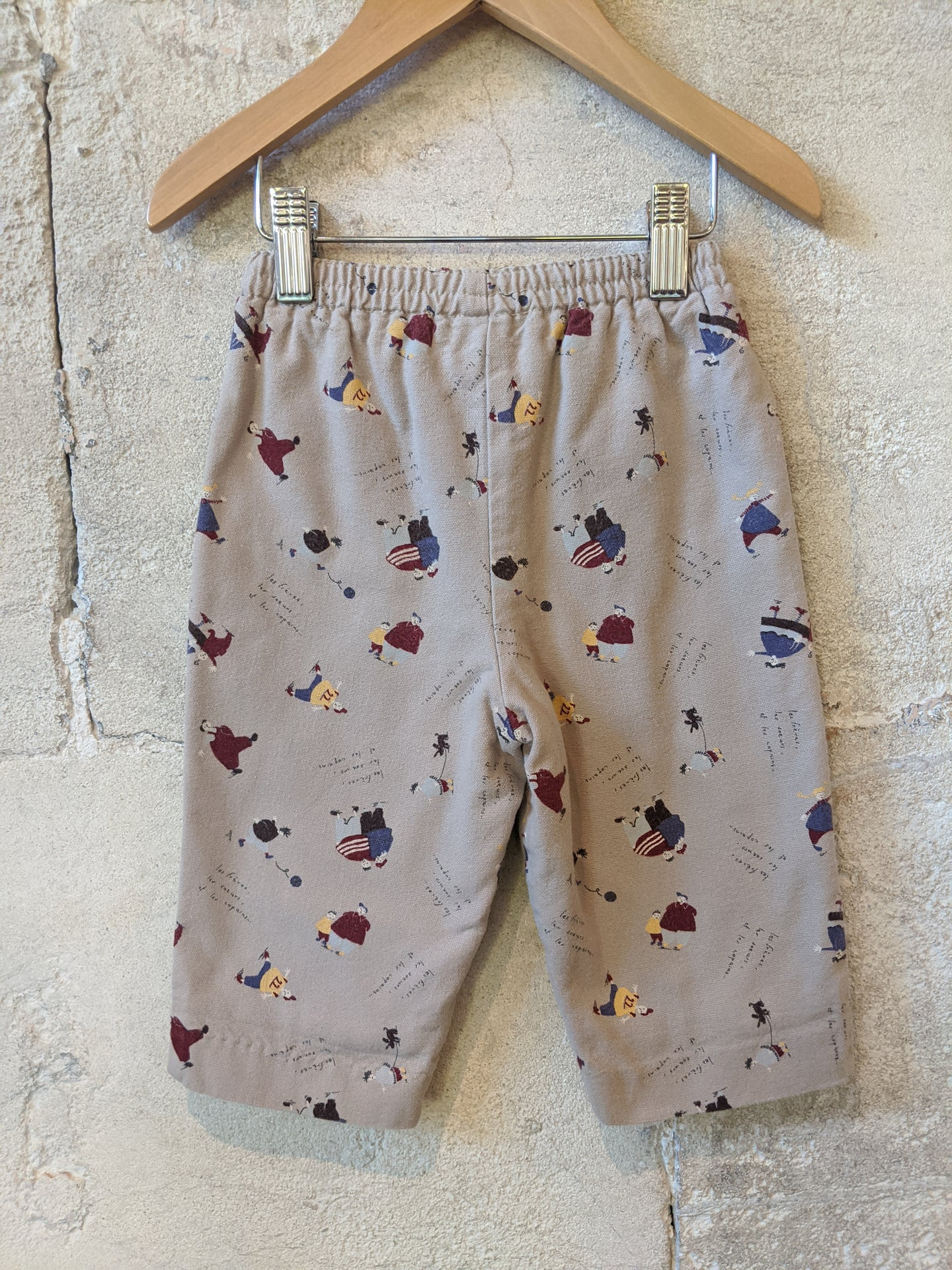 Gorgeous Print Warm Jacadi Trousers -12 Months