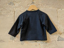 Load image into Gallery viewer, Petit Bateau Classic Soft Navy Sweatshirt - 12 Months