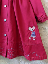 Load image into Gallery viewer, French Floaty Cotton Coat with Pretty Collar - 12 Months