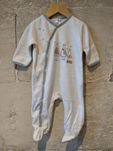 Load image into Gallery viewer, Gorgeous Snowy Bears Soft French Babygrow - 6 Months