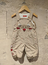 Load image into Gallery viewer, Snuggly Friendly French Dungarees - 6 Months