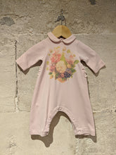 Load image into Gallery viewer, Gorgeous Soft French Floral Sleepsuit with Ruffles - Newborn