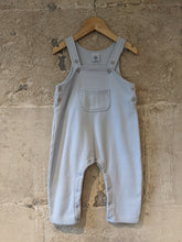 Load image into Gallery viewer, Super Soft Vintage Petit Bateau Pastel Blue Dungarees - 18 Months