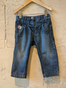 Super Duper Soft Denim Piratess Trousers - 18 Months