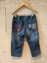 Load image into Gallery viewer, Super Duper Soft Denim Piratess Trousers - 18 Months