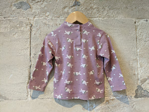 Fab French Daisy the Cow Long Sleeved Turtle Neck - 18 Months