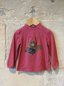 Splendid Squirrel Warm Cotton Long Sleeved Top - 18 Months