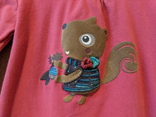 Load image into Gallery viewer, Splendid Squirrel Warm Cotton Long Sleeved Top - 18 Months