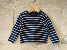 Load image into Gallery viewer, Classic Breton Stripes - 12 Months