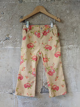 Load image into Gallery viewer, Super French Floral Velvety Trousers - 3 Years