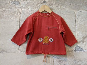 Cute French Vintage Sweatshirt - 2 Years