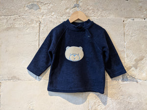 Beautiful Bear French Vintage Sweatshirt - 2 Years