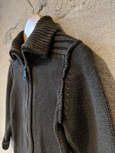 Load image into Gallery viewer, Chunky Knit Cotton Zip Up Cardigan - 2 Years