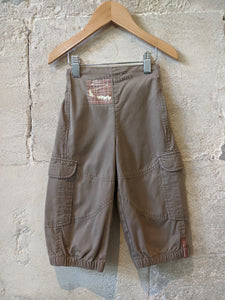 Explorer Taupe Trousers - 2 Years
