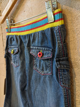 Load image into Gallery viewer, Sparkle and Stripes - Fab French Jeans - 2 Years