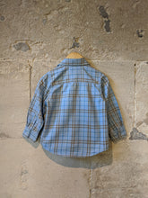 Load image into Gallery viewer, Petit Bateau Softly Coloured Checked Shirt - 2 Years