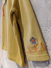 Load image into Gallery viewer, Beautiful French Vintage Mustard Blouse - 2 Years