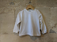 Load image into Gallery viewer, Bout'Chou Bright White Soft Cotton Top - 2 Years