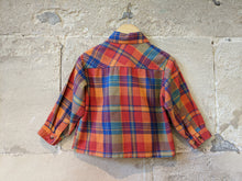 Load image into Gallery viewer, Gorgeous Coloured Vintage Plaid Shirt - 18 Months