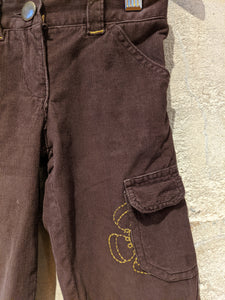 Warm Brown French Cords - 3 Years