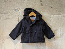 Load image into Gallery viewer, Jacadi Double Breasted Navy Coat - 18 Months