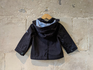 Jacadi Double Breasted Navy Coat - 18 Months