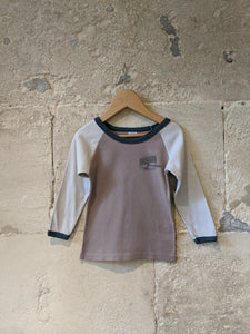 Petit Bateau Safari Long Sleeved Cotton Top - 3 Years