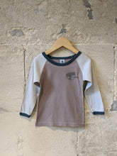Load image into Gallery viewer, Petit Bateau Safari Long Sleeved Cotton Top - 3 Years