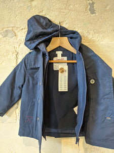 NEW French Navy Smart Double Layer Jacket - 18 Months