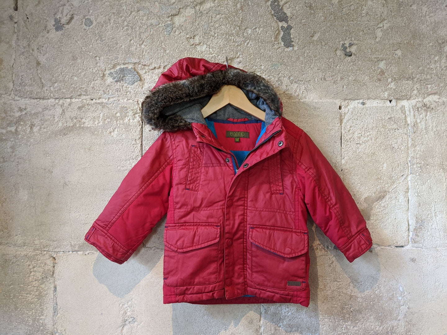 Ted Baker Warm & Bright Coat - 2 Years