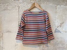 Load image into Gallery viewer, Mousqueton Striped Marinière - 4 Years