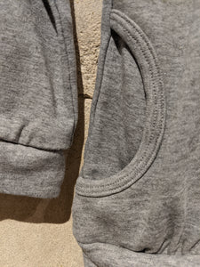 Subtle Sparkly Zip Up Sweatshirt - 4 Years