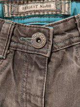 Load image into Gallery viewer, Sergent Major Faded Grey Jeans with Jewels - 4 Years