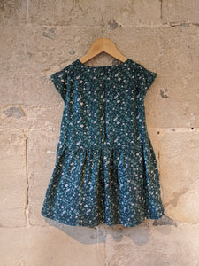 Pretty French Floral Lined Dress - 5 Years