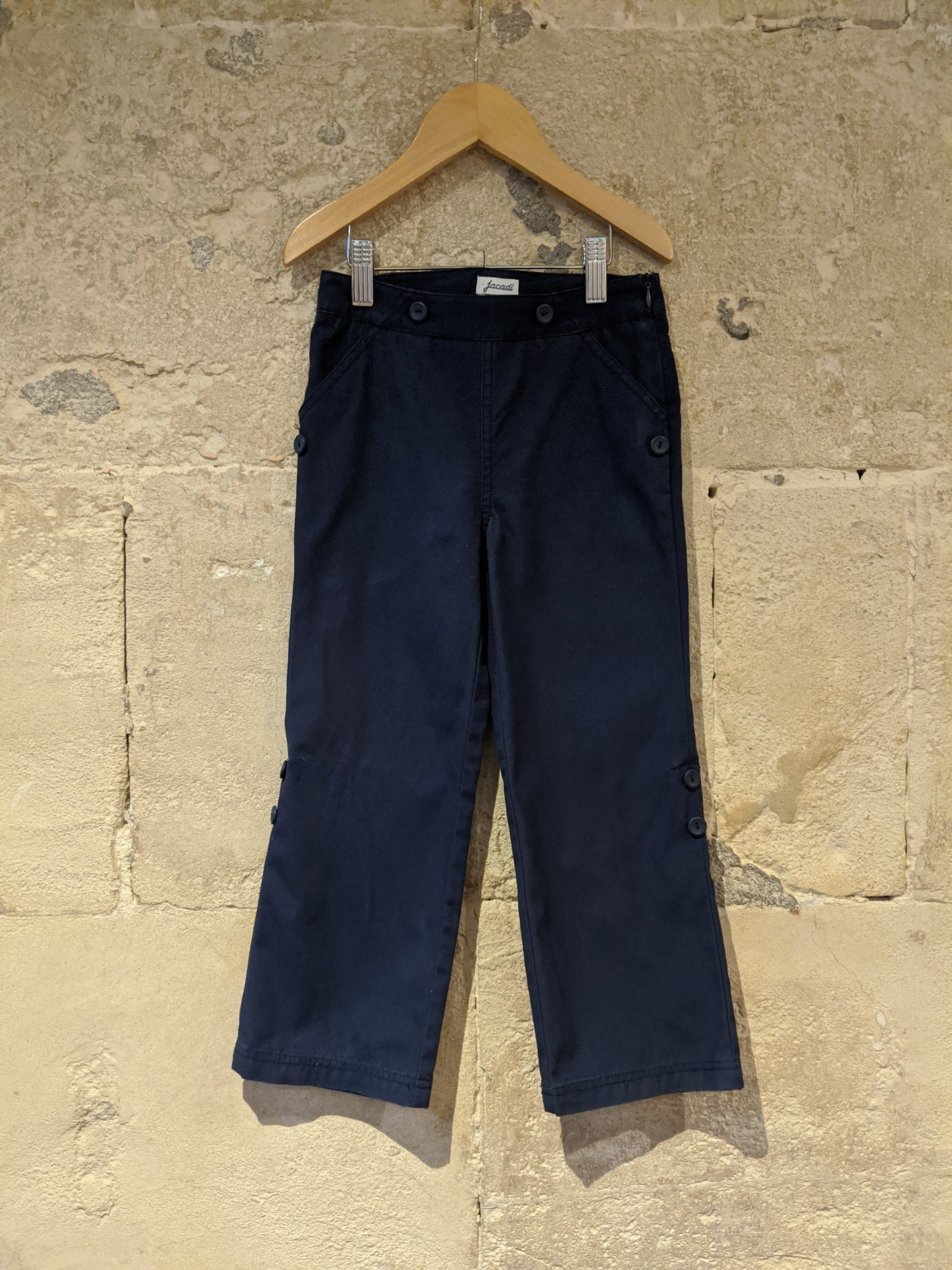 Jacadi French Navy Cotton Trousers - 5 Years