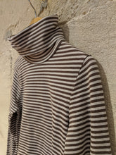Load image into Gallery viewer, Roll Neck Stripes - 6 Years