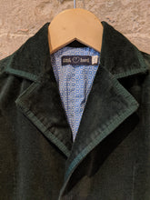 Load image into Gallery viewer, Beautifully Rich Green Velvet Jacket - 4 Years
