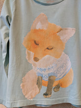 Load image into Gallery viewer, Fab Fox in Fairisle Top - 6 Years
