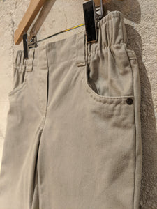 Classic Bootcut Stone Chinos - 6 Years