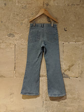 Load image into Gallery viewer, Flattering Flared French Washed Denim Jeans - 6 Years