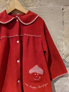 Fabulous French Vintage Dressing Gown - 4 Years
