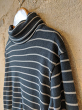 Load image into Gallery viewer, Classic French Striped Roll Neck - 6 Years