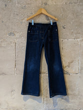 Load image into Gallery viewer, Dark Denim Simple French Flares - 6 Years