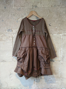 Spectacular Designer French Dress - 8 Years