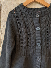Load image into Gallery viewer, Cable Knit Cardigan - 6 Years